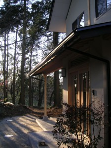 三瓶邸隠居雑木林タテ型