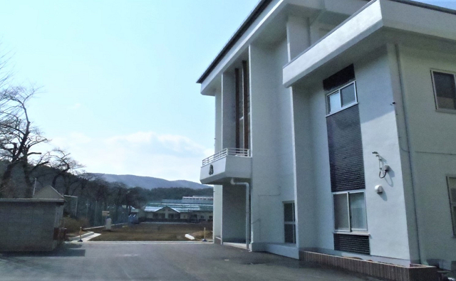 葛尾小学校校舎修繕工事 (2)