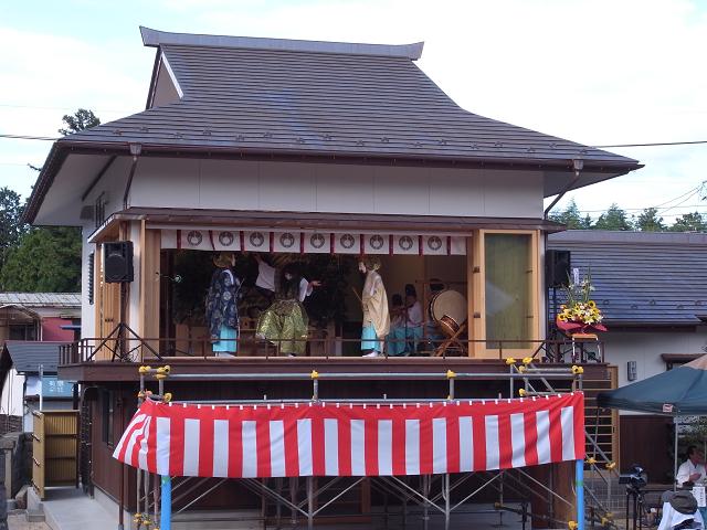 神炊館神社神楽殿竣工祭 (2)