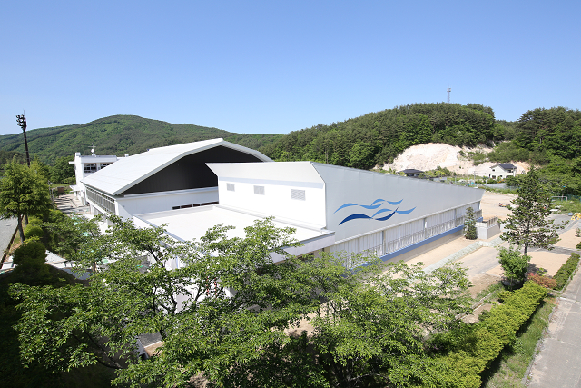葛尾村学校プール新築工事 (2)