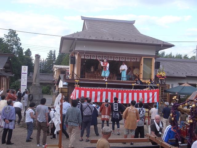 神炊館神社神楽殿竣工祭 (4)