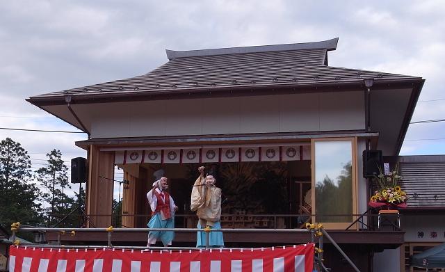 神炊館神社神楽殿竣工祭 (3)